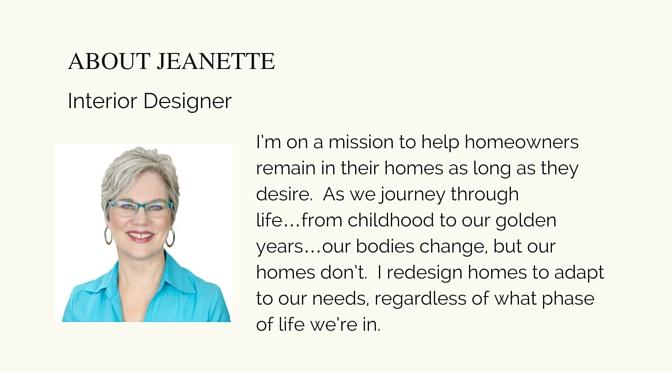 interior designer, mesa, Arizona, universal design, aging in place