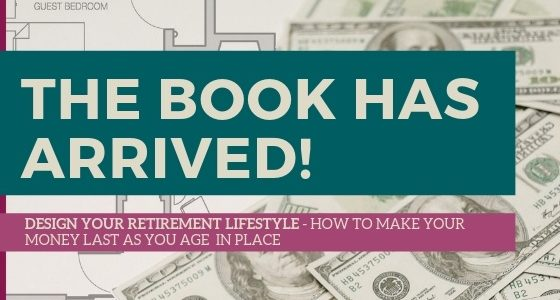 "The Book Has Arrived! ""DESIGN YOUR RETIREMENT LIFESTYLE"""