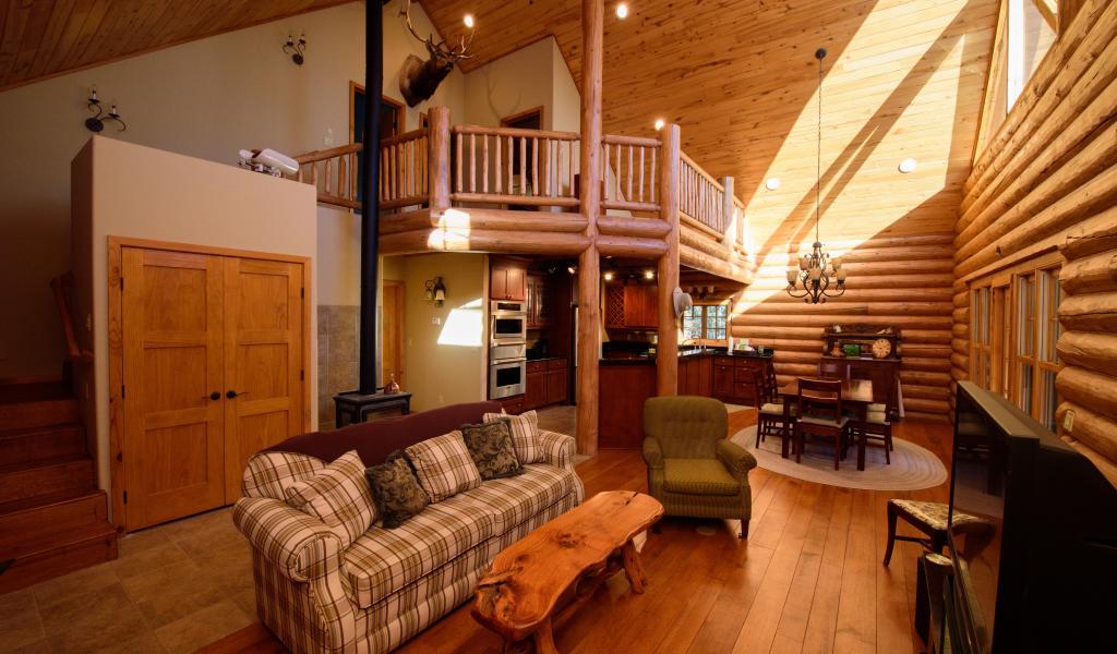 Custom Log Home 2