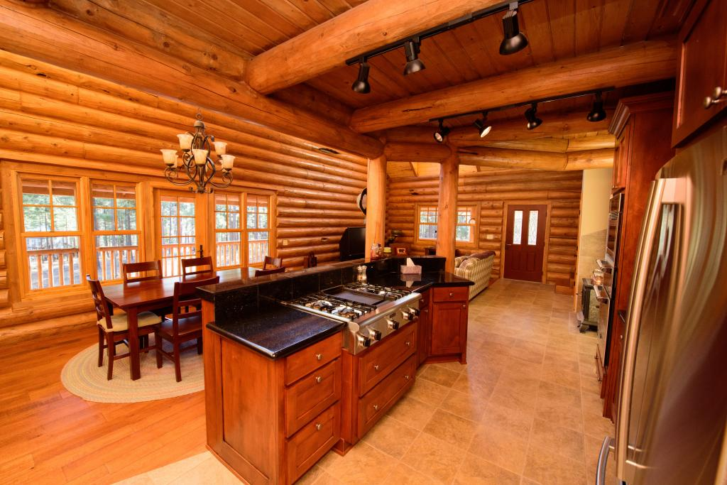 Custom Log Home 3