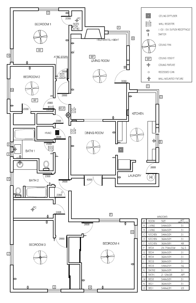 Original Floor Plan
