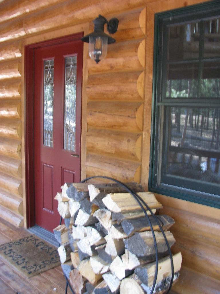 Custom Log Home 1