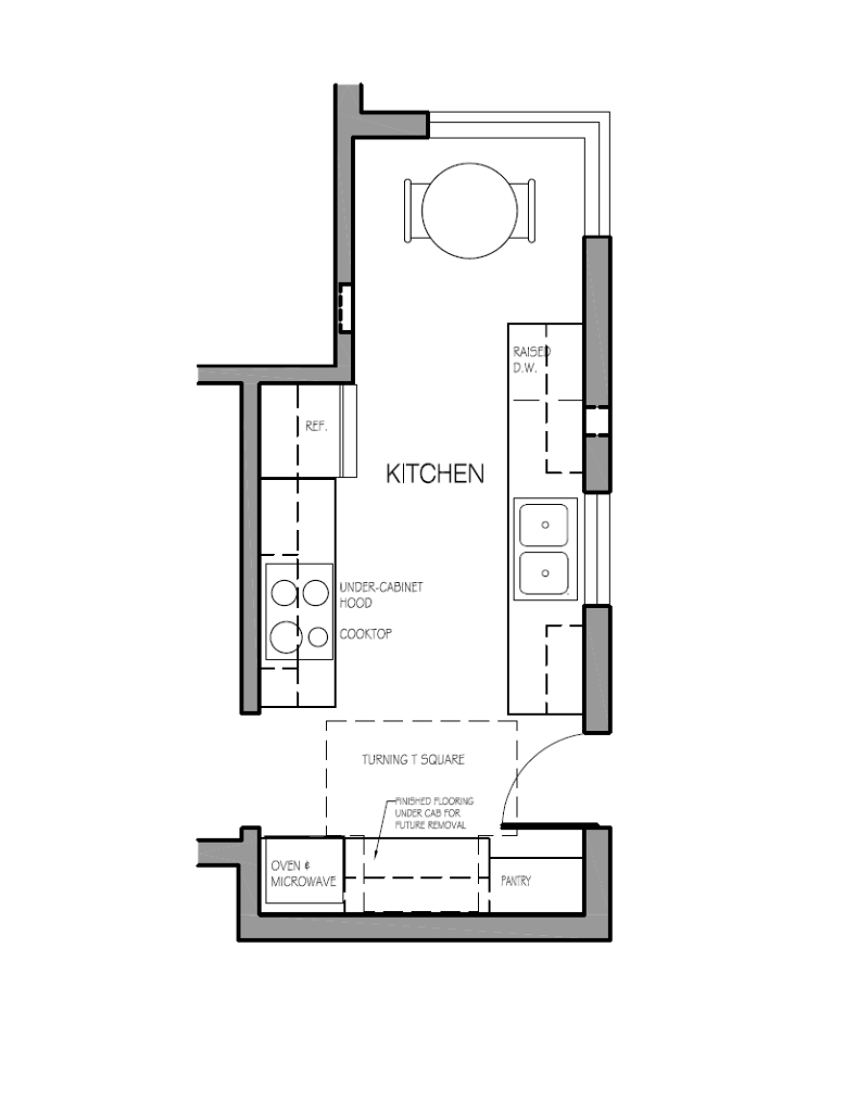 Redesign Kitchen Floor Plan
